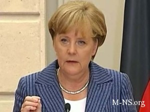 Merkel' ugrojaet, no prodoljaet dialog