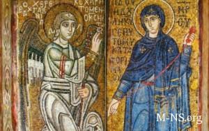 Pravoslavnye hristiane segodnya otmechayut Blagoveschenie Presvyatoi Bogorodicy