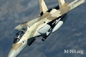 VVS Izrailya opyat' bombardirovali Gazu