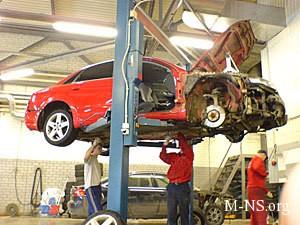 Высококачественная экспертиза автомобилей после ДТП