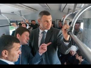 Кличко проинспектировал Левобережную после ремонта
